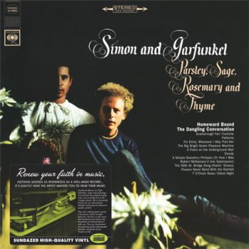 Simon And Garfunkel - Parsley, Sage, Rosemary And Thyme (Sundazed Music LP 2008 VinylRip 24/96) 1966
