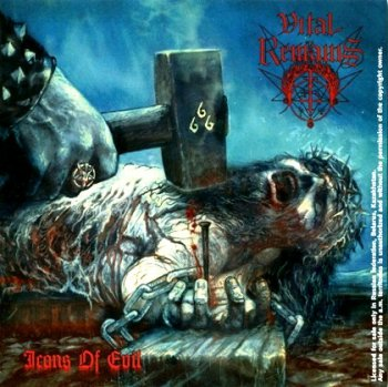 "Vital Remains ""Icons of evil"" 2007 г."
