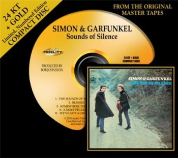 Simon & Garfunkel - Sounds Of Silence (AudioFidelity 24Karat+ Gold HDCD 2010) 1966