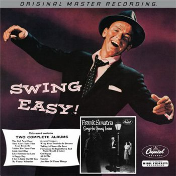 Frank Sinatra - 16LP Box Set Mobile Fidelity 'Sinatra Silver Box': LP1 1954 Songs For Young Lovers & Swing Easy / VinylRip 24/96