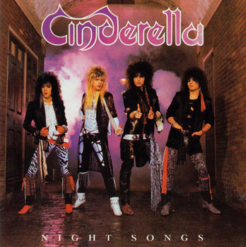 CINDERELLA: Night Songs (1986)