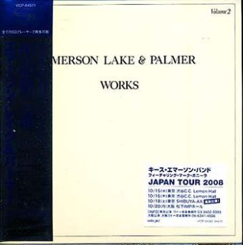 Emerson, Lake & Palmer - Works Volume 2 (SHM-CD) [Japan] 1977(2008)
