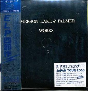 Emerson, Lake & Palmer - Works Volume 1 (SHM-CD) [Japan] 1977(2008)
