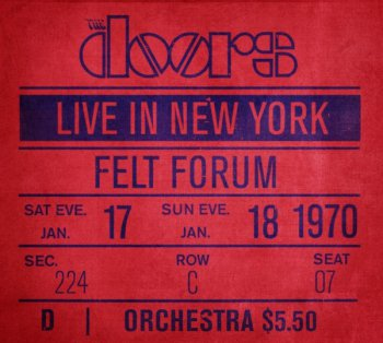 The Doors - Live in New York (2009) Vol.4 [6CD Box Set]