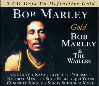 Bob Marley & The Wailers - Definitive Gold (5CD Box Set Deja Vu Records) 2006