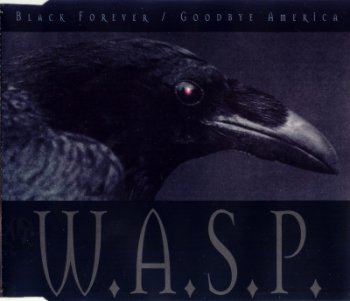 W.A.S.P. — Black Forever CD Single ver 2 (1995)