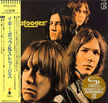 The Stooges - The Stooges (Elektra / Warner Music Japan MiniLP Remastered SHM-CD 2009) 1969