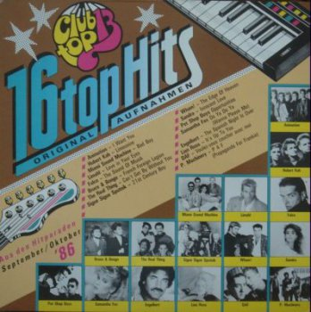 Various - 16 Top Hits (September / Oktober) (Gema 42 716 1, Vinyl Rip 24bit/48kHz) (1986)