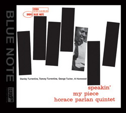 Horace Parlan - Speakin' My Piece (1960) [2009 AUDIO WAVE MUSIC/BLUE NOTE XRCD24]