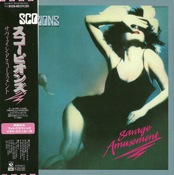 SCORPIONS: Savage Amusement (1988) (Japan Mini LP, BVCM-40010)