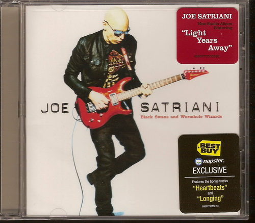Joe Satriani - Black Swans and Wormhole Wizards [Limited Edition](2010)