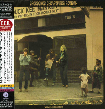 CREEDENCE CLEARWATER REVIVAL: Willy and the Poor Boys (1969) (1998, Japan, 20 Bit K2 Remasters, VICP-60541)