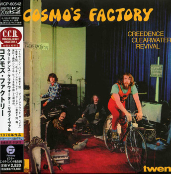 CREEDENCE CLEARWATER REVIVAL: Cosmo's Factory (1970) (1998, Japan, 20 Bit K2 Remasters, VICP-60542)