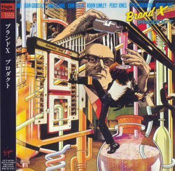 Brand X - Product (Toshiba EMI Japan Paper Sleeve 2006) 1979