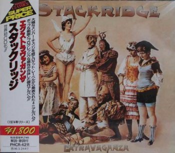 Stackridge - Extravaganza (Rocket / Nippon Phonogram Records Japan 1996) 1974
