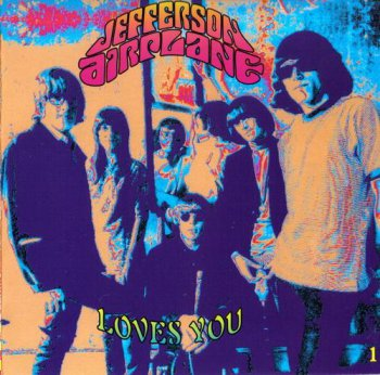 Jefferson Airplane - Jefferson Airplane Loves You (3CD Box Set RCA Records) 1992