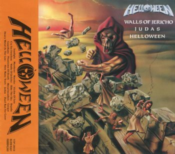 Helloween - Helloween + Walls Of Jericho + Judas (Victor Records Japan Non-Remaster) 1989