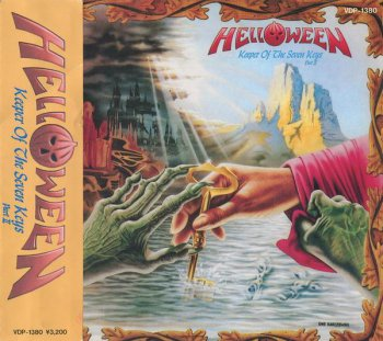Helloween - Keeper Of The Seven Keys - Part II (Victor Records Japan 1st Press) 1988