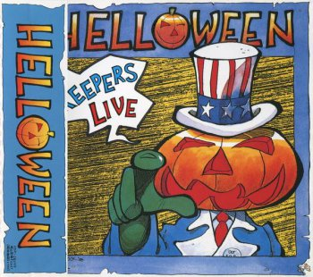 Helloween - Keepers Live (Victor Records Japan) 1989