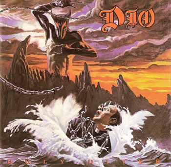 DIO: Holy Diver (1983) (1st Press, West Germany, Mercury 811021-2)