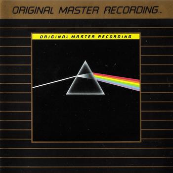 PINK FLOYD: Dark Side Of The Moon (1973) (24K GOLD PLATED, MFSL UDCD II 517)