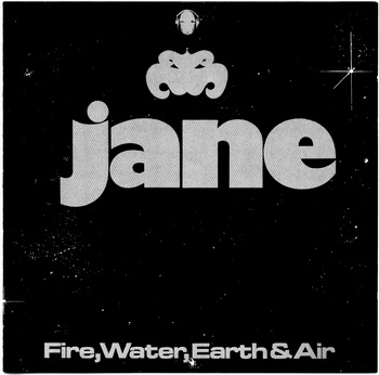 Jane - Fire, Water, Earth & Air 1976