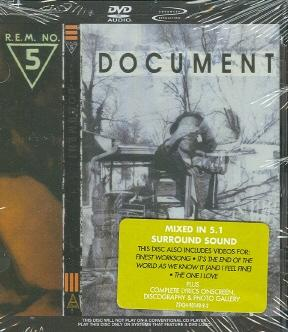 R.E.M. - No. 5 Document (1987) (DVDA rip 24/96)