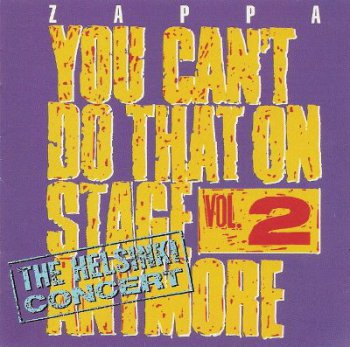 Frank Zappa - You Can't Do That On Stage Anymore Vol. 2 (1988)