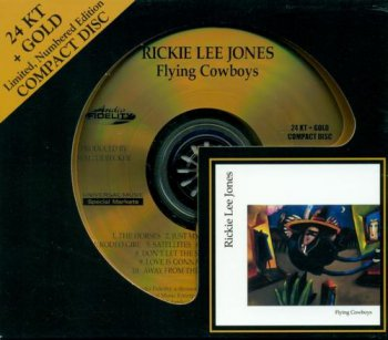 Rickie Lee Jones - Flying Cowboys (Audio Fidelity HDCD 2010) 1989