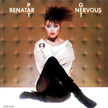 Pat Benatar - Get Nervous 1982 (Japan 1st Press CP28-1044)