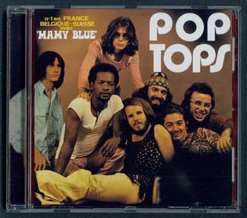 POP TOPS: Mamy Blue (1971) (2008, Magic Records 3930798, Made in France)