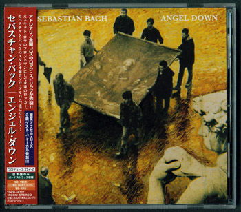 SEBASTIAN BACH: Angel Down (2007, Caroline, EMI TOCP-66727, Made in Japan)