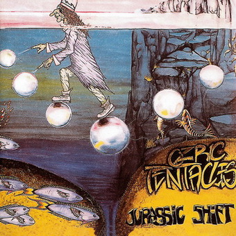 Ozric Tentacles - Jurassic Shift 1993 (Ⓟ&© 2003 Snapper Music (SDPCD125) UK)
