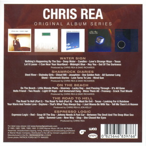 Chris Rea: Original Album Series ● 5CD Box WEA / Rhino Records