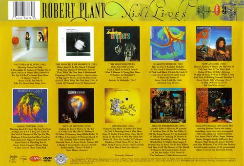 Robert Plant: Nine Lives ● 9CD + DVD Box Set Rhino Records 2006