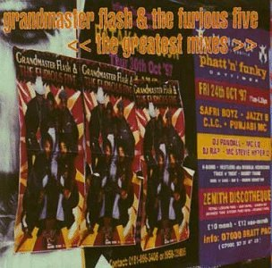 Grandmaster Flash & The Furious Five-The Greatest Mixes 1997