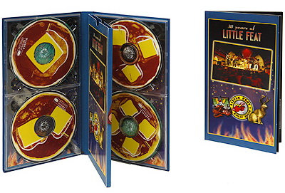 Little Feat ● Hotcakes & Outtakes: 30 Years Of Little Feat ● 4CD Box Set Warner Bros. / Rhino Records 2000