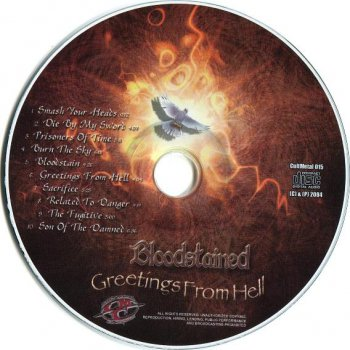 Bloodstained - Greetings From Hell 2004