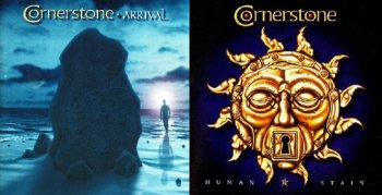 Cornerstone - Arrival 2000, Human Stain 2002 (2 albums)