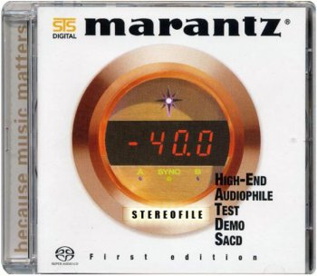 Test CD Marantz Hi-End Audiophile Test Demo SACD 2005