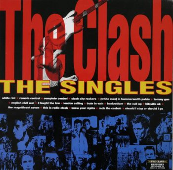The Clash - The Singles (Sony Music / Columbia Records UK LP 1999 VinylRip 24/96) 1991
