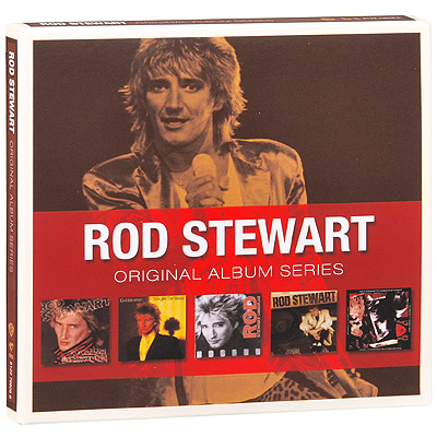 Rod Stewart: Original Album Series ● 5CD Box Set Warner Bros. Records 2010