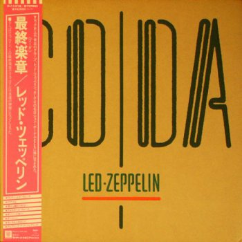Led Zeppelin - Coda (Warner-Pioneer / Swan Song Japan Original LP VinylRip 24/192) 1982