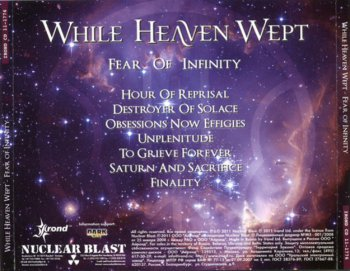 While Heaven Wept - Fear Of Infinity (2011)