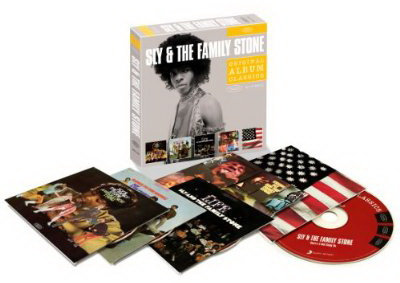 Sly & The Family Stone: Original Album Classics ● 5CD Box Set Epic Records 2010