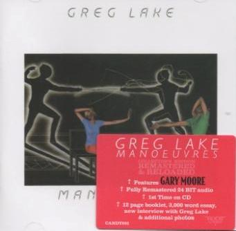 Greg Lake - Manoeuvres  1983 (Remastered 2011, Rock Candy, CANDY092)