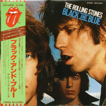 The Rolling Stones - Black And Blue (EMI / Toshiba Japan Original LP VinylRip 24/96) 1976