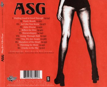 ASG - Feeling Good Is Good Enough (2005)