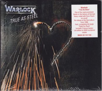 Warlock - True As Steel [Remastered, 3 Bonus Tracks, MASS CD 1417 DG] (1986 / 2011)
