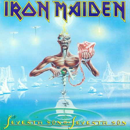 Iron Maiden - Seventh Son Of A Seventh Son [Capitol Records LP (VinylRip 24/192)] (1988)